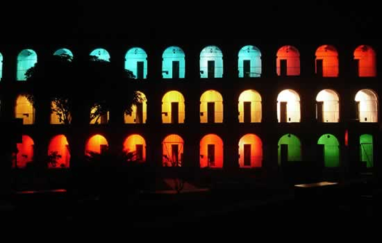 Light & Sound Show at Cellular Jail